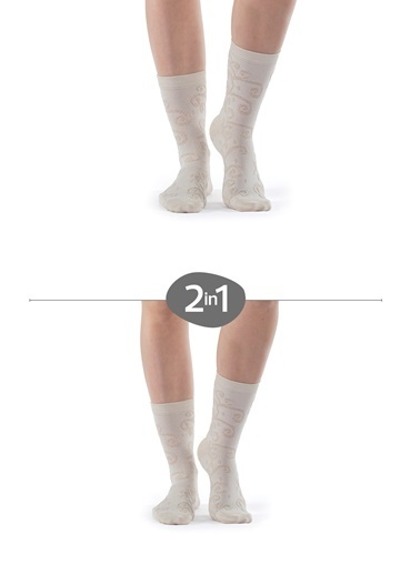 Hays Kadın Çorap Bej